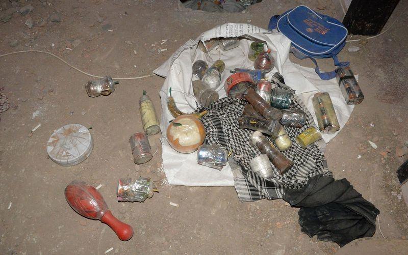 PKK'nın 'Patlayıcı imalathanesi' imha edildi 17