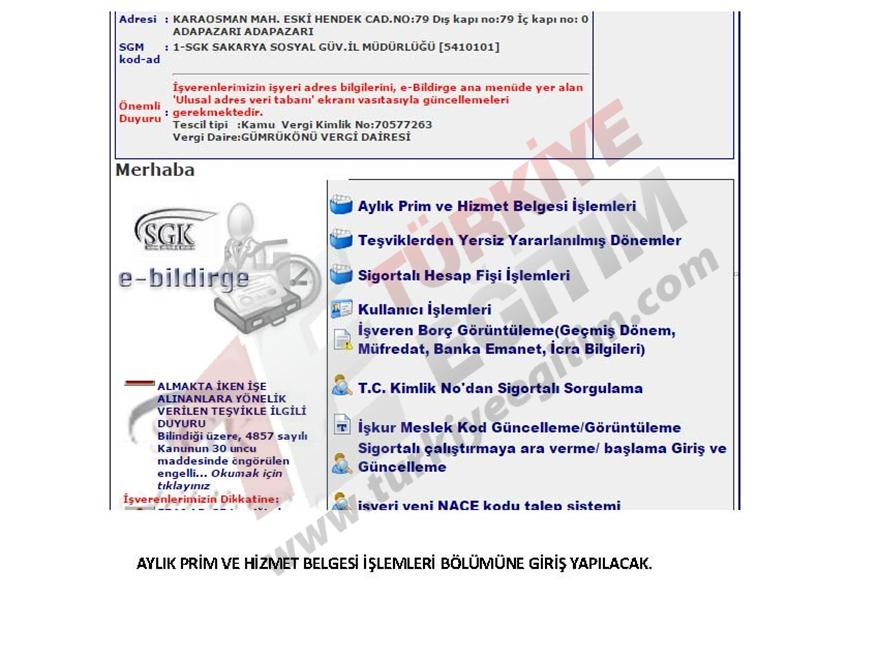 Ücretli Öğretmen e-Bildirge İşlemleri Nasıl Yapılacak? 6