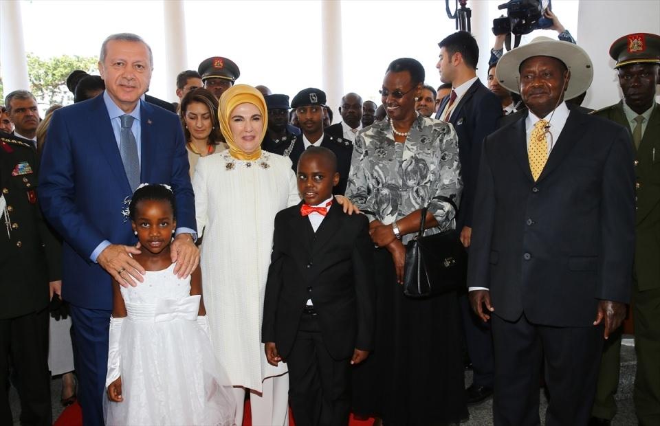 Cumhurbaşkanı Erdoğan Uganda'da 16