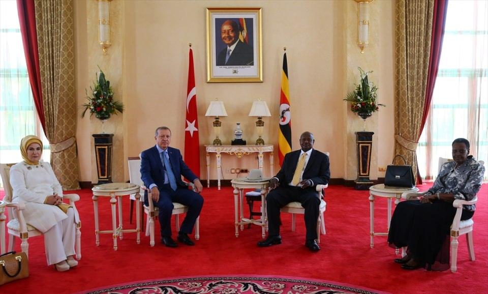 Cumhurbaşkanı Erdoğan Uganda'da 17