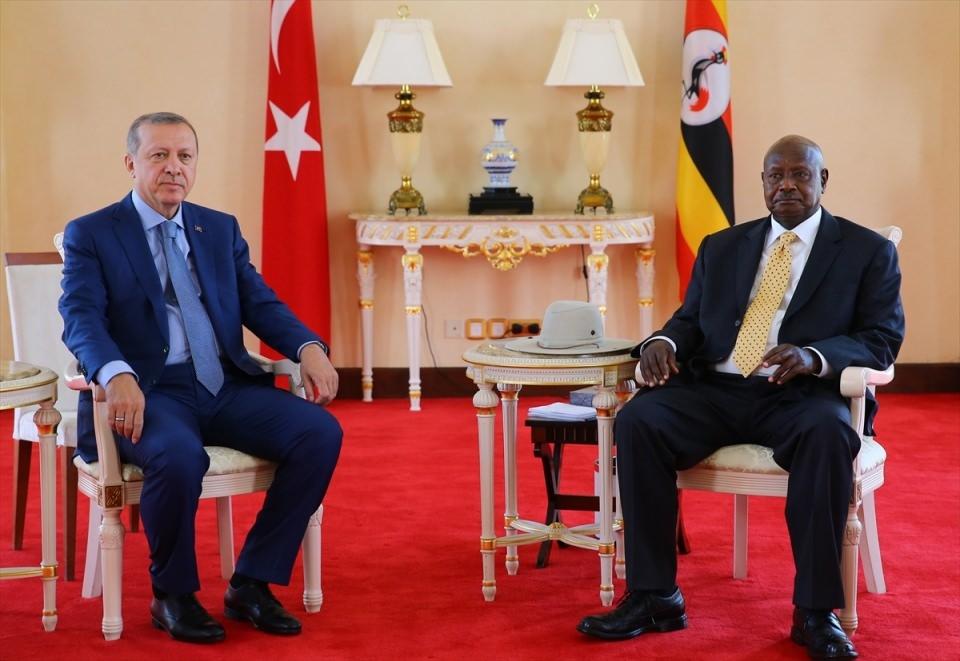 Cumhurbaşkanı Erdoğan Uganda'da 18