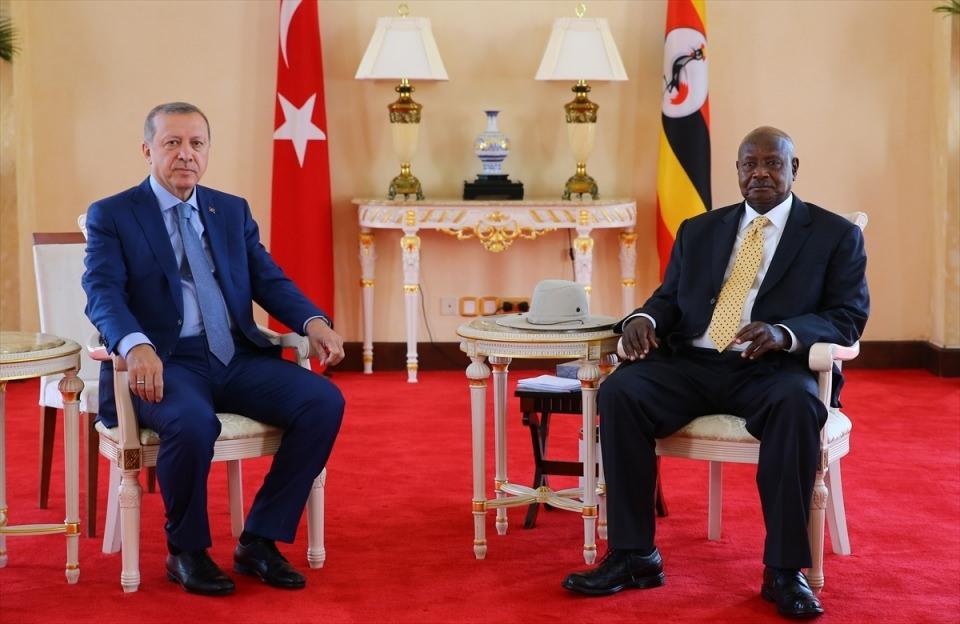 Cumhurbaşkanı Erdoğan Uganda'da 19