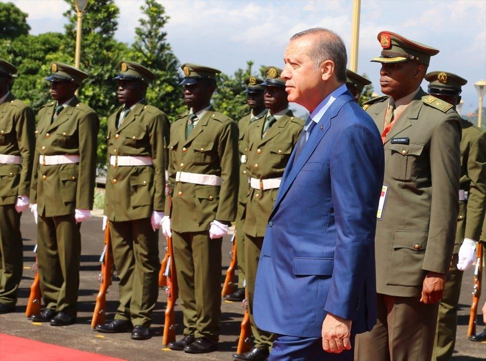 Cumhurbaşkanı Erdoğan Uganda'da 2