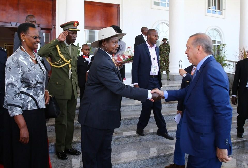 Cumhurbaşkanı Erdoğan Uganda'da 3