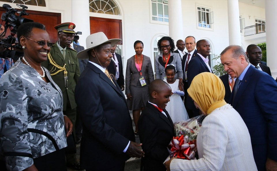 Cumhurbaşkanı Erdoğan Uganda'da 4