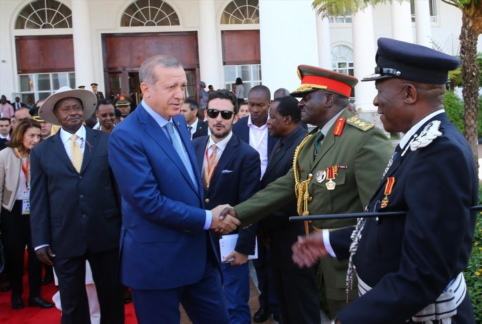 Cumhurbaşkanı Erdoğan Uganda'da 5