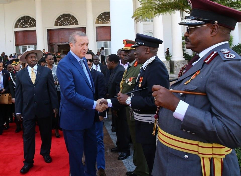 Cumhurbaşkanı Erdoğan Uganda'da 6