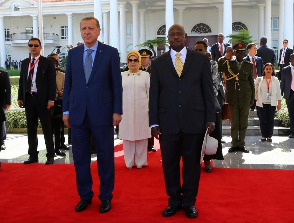 Cumhurbaşkanı Erdoğan Uganda'da 8