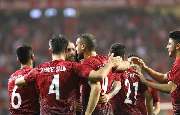 A Milli Takımın EURO 2016 forma numaraları 6