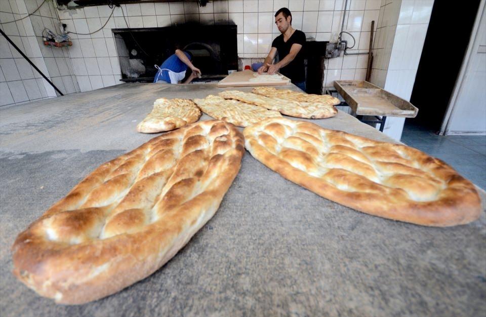 Pide ustalarının ramazan mesaisi başladı 7