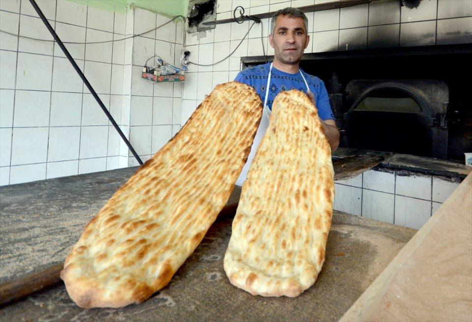 Pide ustalarının ramazan mesaisi başladı 8