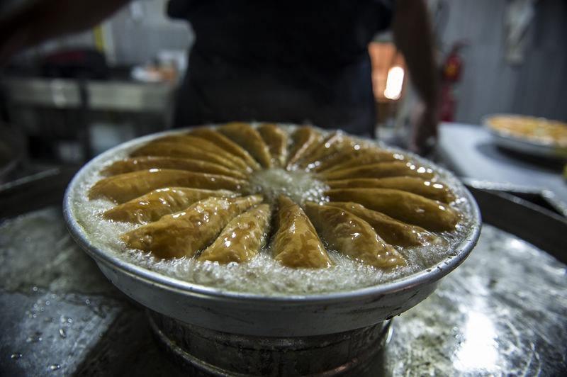 Baklavacılar ramazan mesaisinde 18