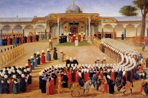 Osmanlı padişahlarının iftar sofrası nasıldı? 76
