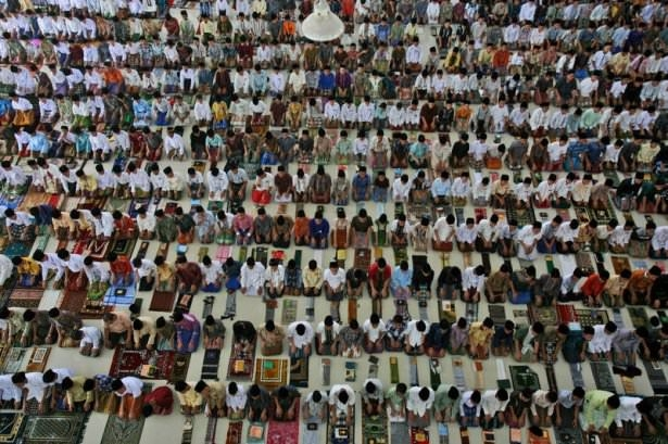Dünyadan ramazan manzaraları 122