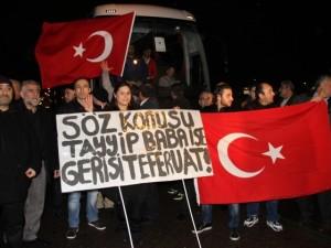 Brüksel'de binlerce kişi Erdoğan için toplandı