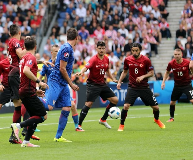 Türkiye - Hırvatistan maçı Dünya basınında 16