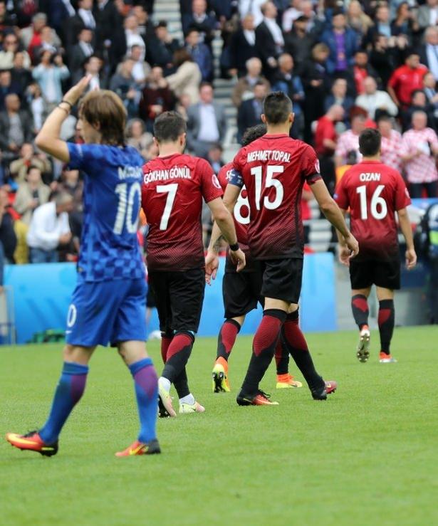 Türkiye - Hırvatistan maçı Dünya basınında 21