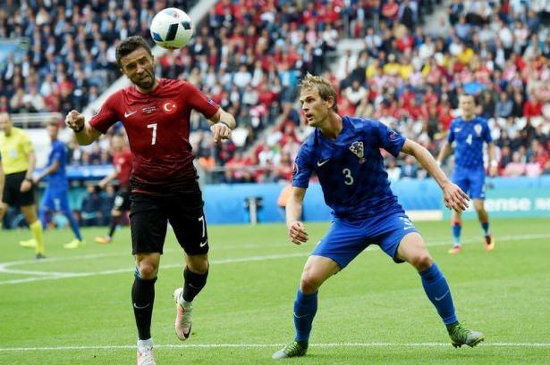Türkiye - Hırvatistan maçı Dünya basınında 32