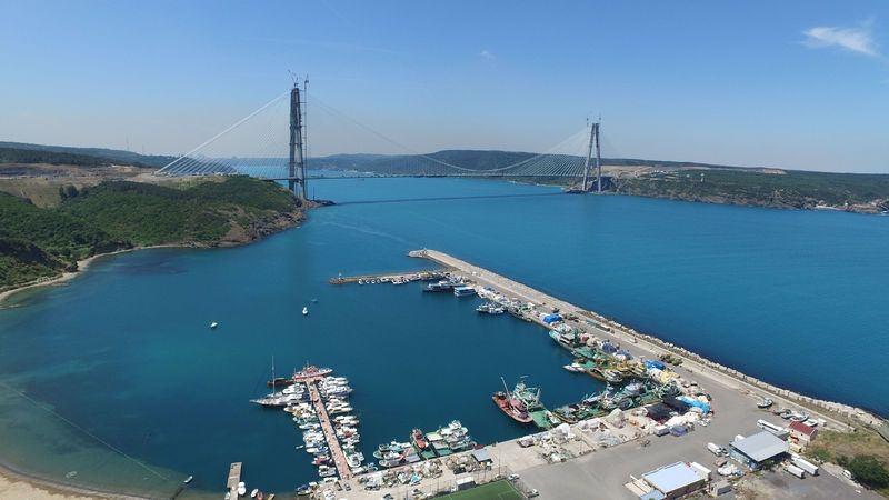 İstanbul'un incisi: Yavuz Sultan Selim Köprüsü 1