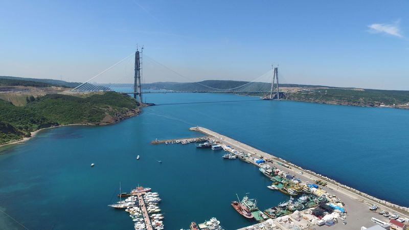 İstanbul'un incisi: Yavuz Sultan Selim Köprüsü 5