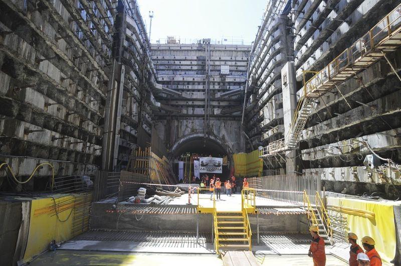 Denizaltı gerdanlığı 'Avrasya Tüneli' 1