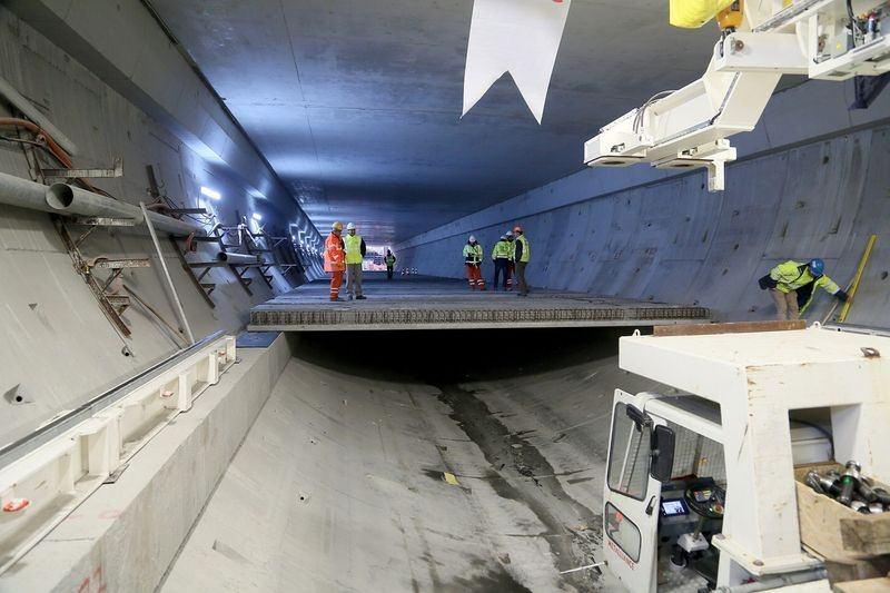 Denizaltı gerdanlığı 'Avrasya Tüneli' 11