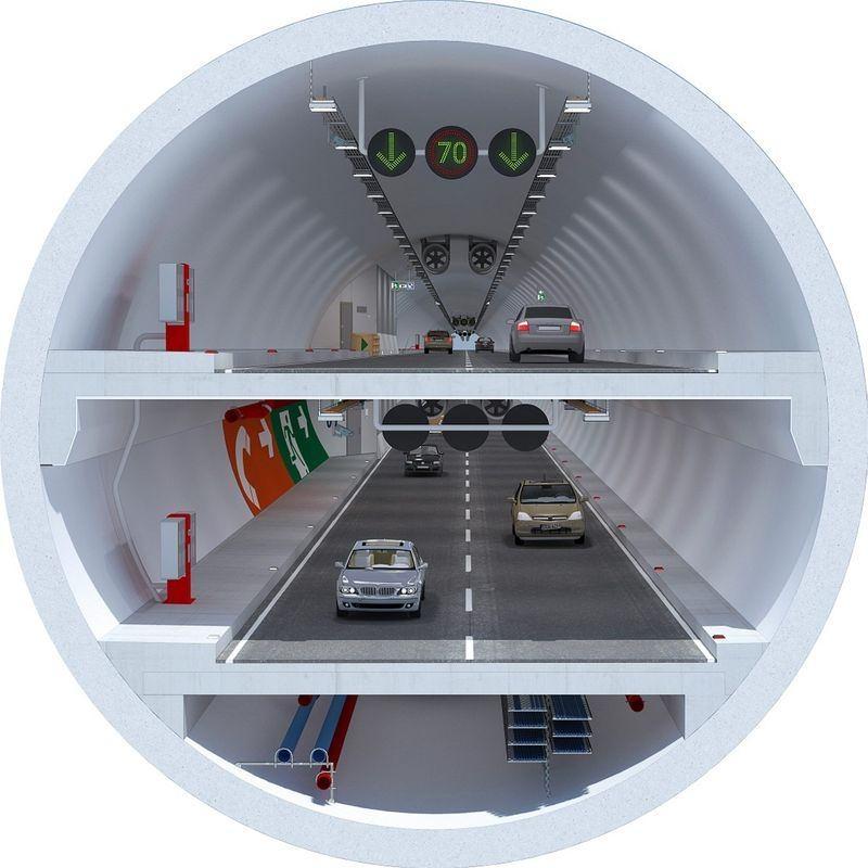Denizaltı gerdanlığı 'Avrasya Tüneli' 12