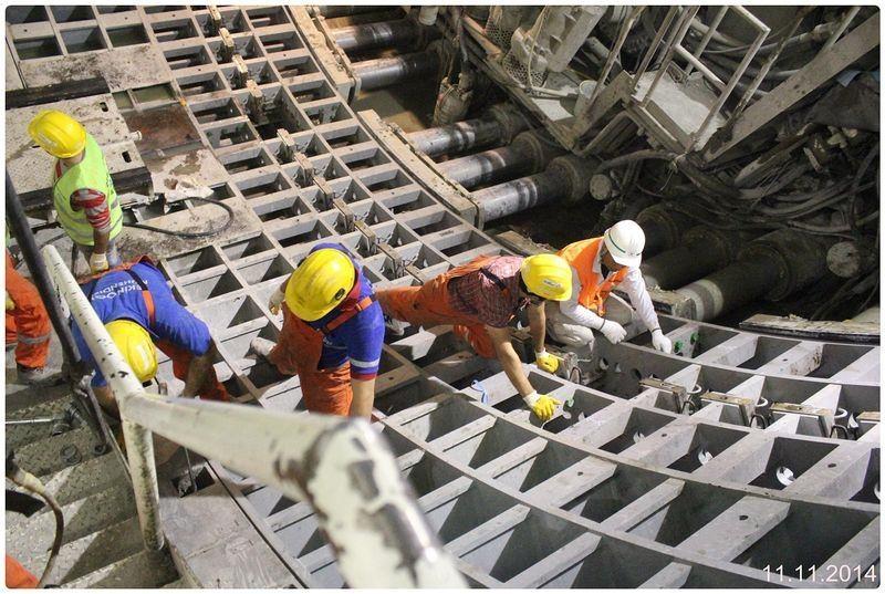 Denizaltı gerdanlığı 'Avrasya Tüneli' 16