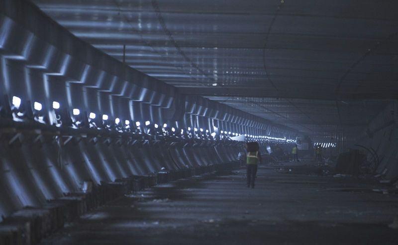 Denizaltı gerdanlığı 'Avrasya Tüneli' 20