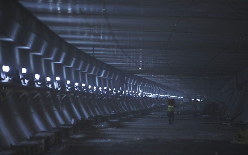 Denizaltı gerdanlığı 'Avrasya Tüneli' 23