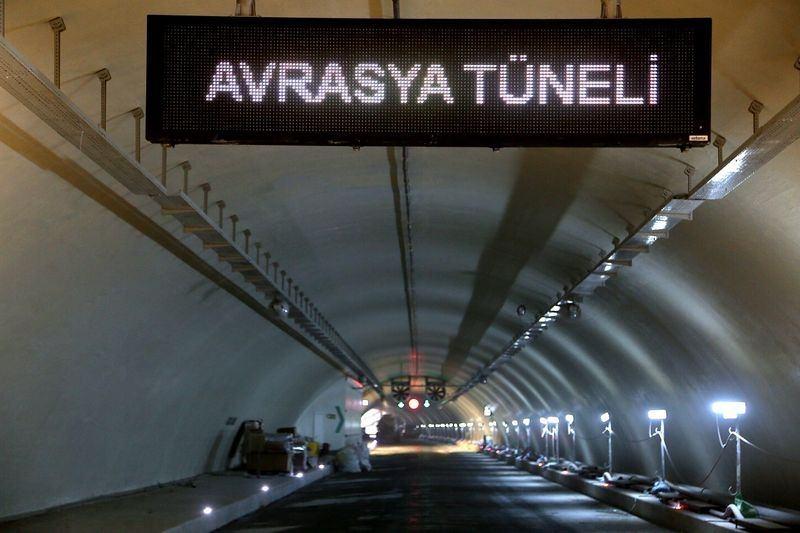 Denizaltı gerdanlığı 'Avrasya Tüneli' 5