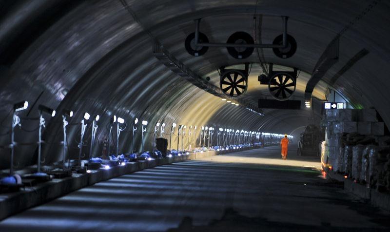 Denizaltı gerdanlığı 'Avrasya Tüneli' 7