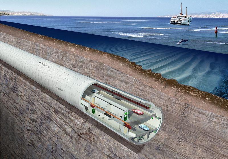 Denizaltı gerdanlığı 'Avrasya Tüneli' 8