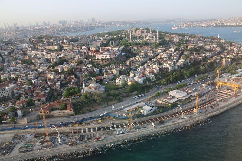Denizaltı gerdanlığı 'Avrasya Tüneli' 9