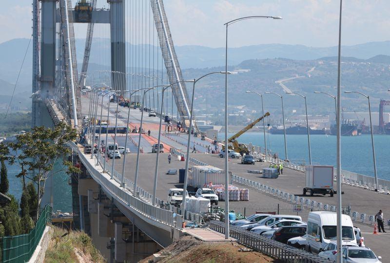 Osmangazi Köprüsü açılışa hazır 1