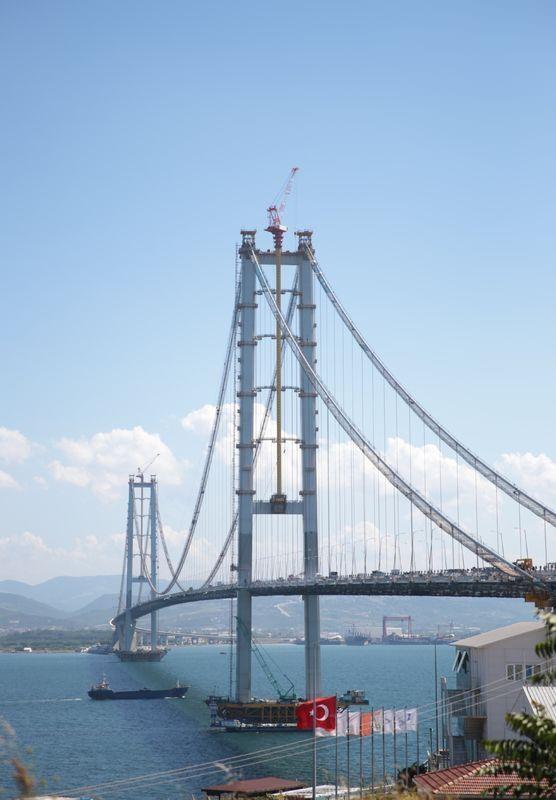 Osmangazi Köprüsü açılışa hazır 10