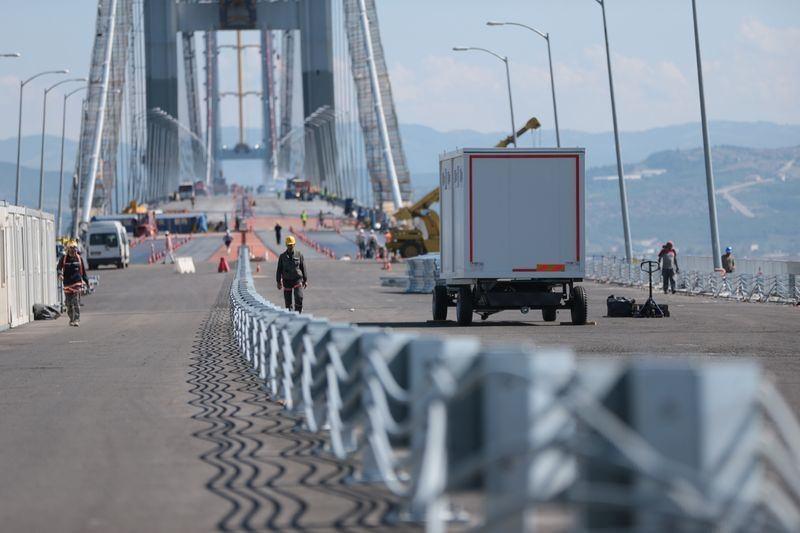Osmangazi Köprüsü açılışa hazır 13