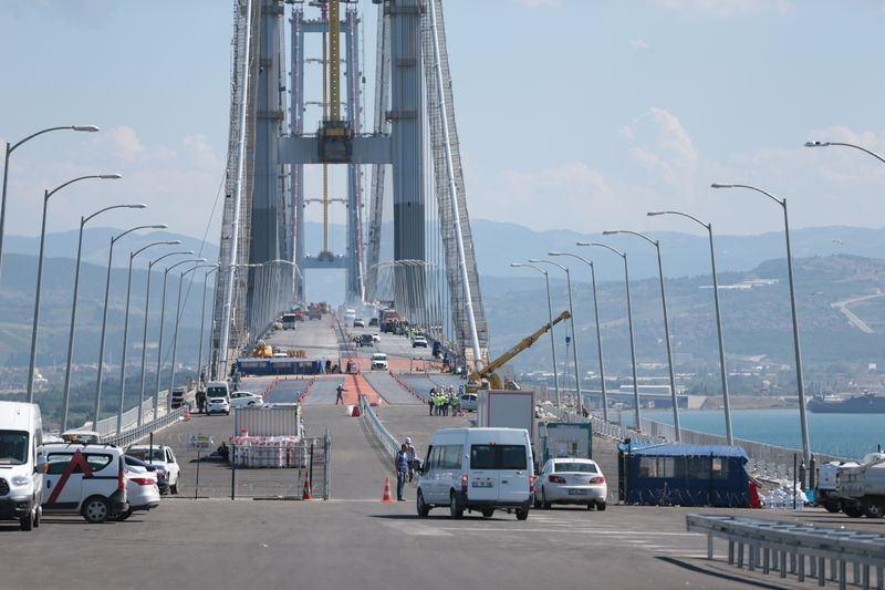 Osmangazi Köprüsü açılışa hazır 14