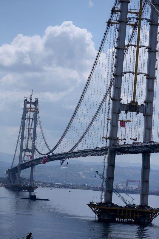 Osmangazi Köprüsü açılışa hazır 26