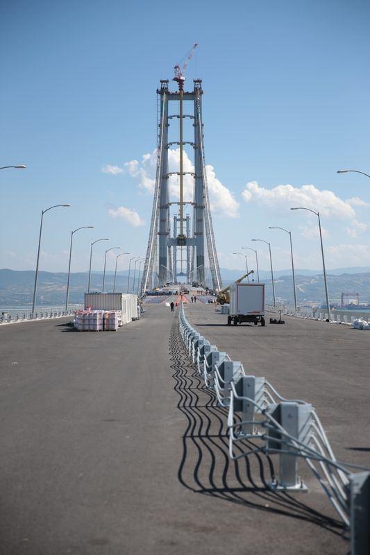 Osmangazi Köprüsü açılışa hazır 4