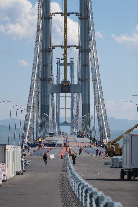 Osmangazi Köprüsü açılışa hazır 7