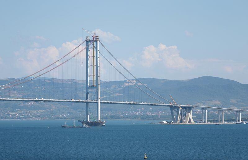 Osmangazi Köprüsü açılışa hazır 9