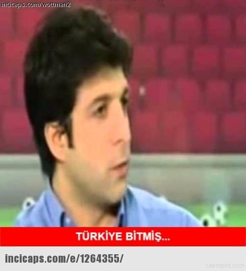 Türkiye-İspanya maçı capsleri! 12