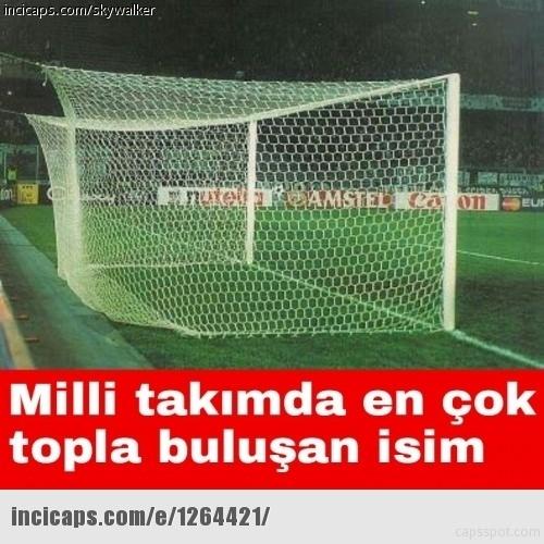 Türkiye-İspanya maçı capsleri! 13