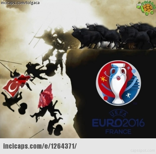 Türkiye-İspanya maçı capsleri! 16