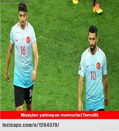 Türkiye-İspanya maçı capsleri! 18