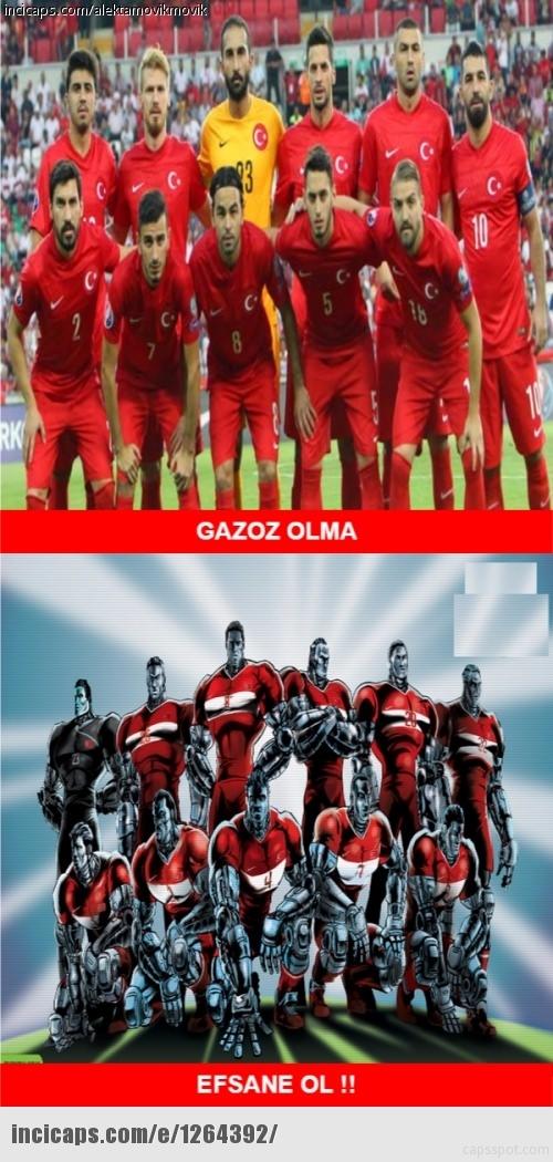 Türkiye-İspanya maçı capsleri! 19