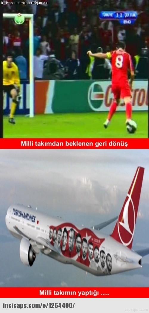 Türkiye-İspanya maçı capsleri! 20