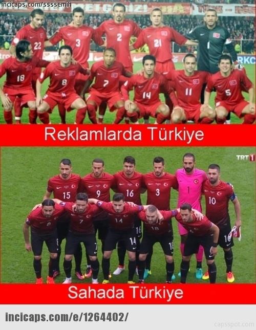 Türkiye-İspanya maçı capsleri! 21