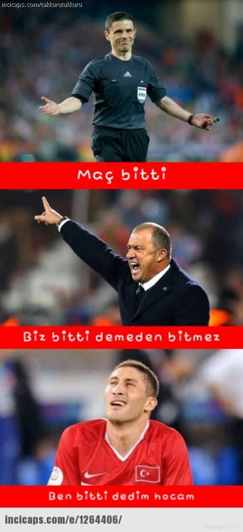 Türkiye-İspanya maçı capsleri! 23